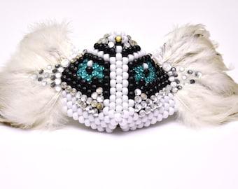 Feathered Owl Kandi Mask