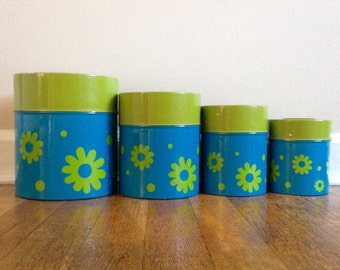 Vintage Counterpoint Canister Set