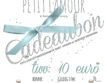Gift Certificates Petit Lamour