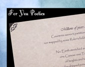 POEM 11. Citizenship Poem. 8.5x11 Frameable Congratulations Card or Poem Print. The Perfect Welcome Gift for New Citizens!