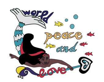 World Peace & Love T-shirt