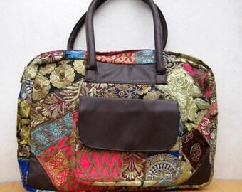 Laptop bag / colorful shopping bag / shoulder bag/ embroidered laptop bag /tribal bag/ embroiderd bag/ gift item.