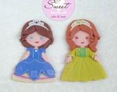 Sophia and Amber Cake Top...
