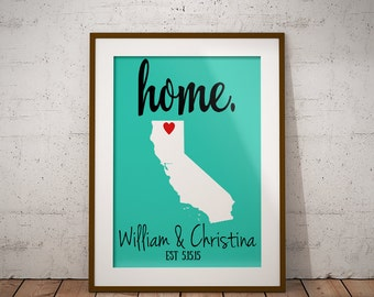 home. | any state or country | printable | digital print