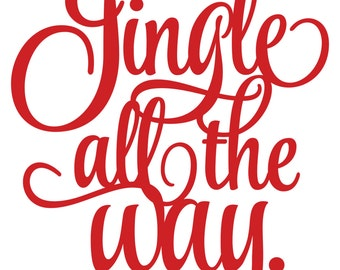 Jingle all the Way decal