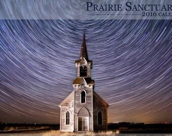 Prairie Sanctuaries 2016 Wall Calendar