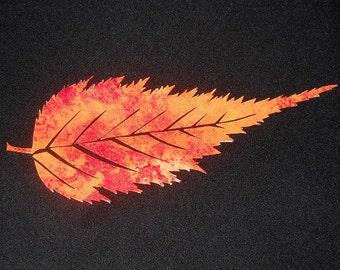 Leaf Quilt Applique Pattern Design