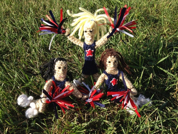 tiny sports dolls crochet