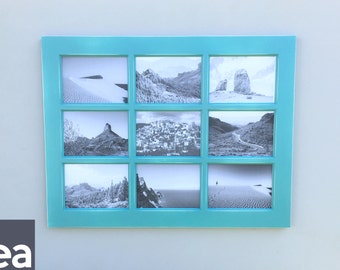 Picture Frame Collage – Window – Picture Frame – Rustic 4x6 Openings