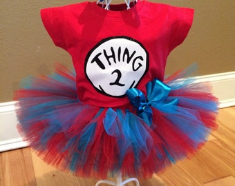 Thing 2 Outfit; Thing 1