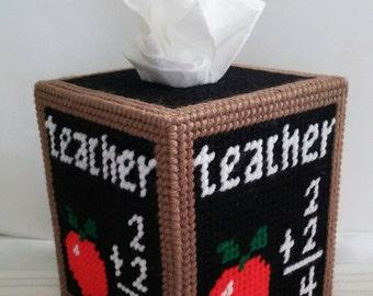 Teacher Tissue Box Cover