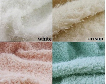 NEW Short Pile Faux Fur Shag Fabric for Baby Newborn Photo Prop Backdrop