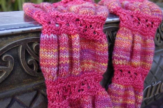 Ruched Cowl Knitting Pattern : Ruched PDF knitting pattern