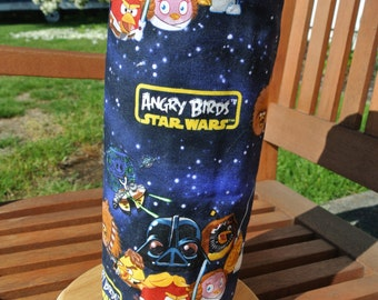"""Angry Birds reusable """"un-paper"""" towels set of 6"""
