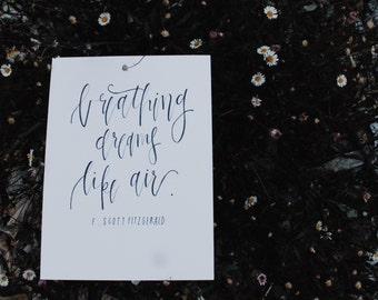 breathing dreams print