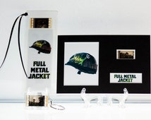 Full Metal Jacket - 3 Piece Movie Film Cell Collection Gift Set, Bookmark, Key Fob, 6x4 Display