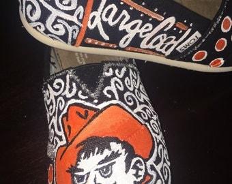 Custom painted toms!