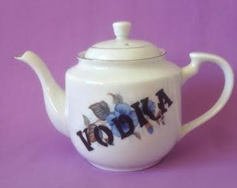 Vintage China Vodka Tea Pot
