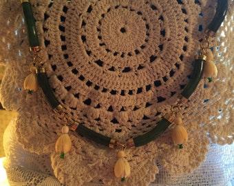 Vintage Jade Statement Necklace