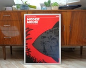 Modest Mouse | A2 screenprint | limited of 40