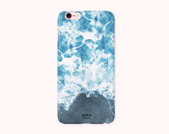 Final Sale Beach iPhone 6S Case, iPhone 6 Case, iPhone 6S Cover, iPhone 6 Cover - Ocean bubbles