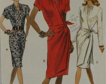 Vogue 7780 Misses' Dress Sewing Pattern New / Uncut Size 14-16