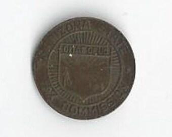 1937 Arizon State Tax Commission 1 mill Token