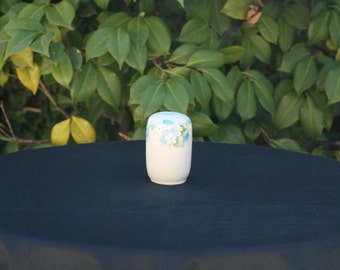 Vintage Hand Painted Ceramic Single Salt Shaker/Stick Pin Holder