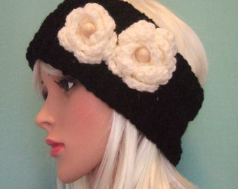 Stylish Crochet Ear Warmer