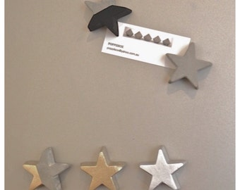 Star Concrete Magnets x5