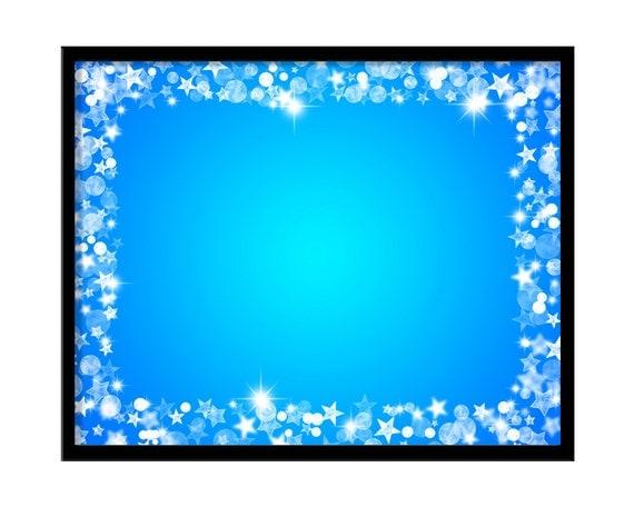Star Frame Digital Overlay Photoshop Overlays for Portraits