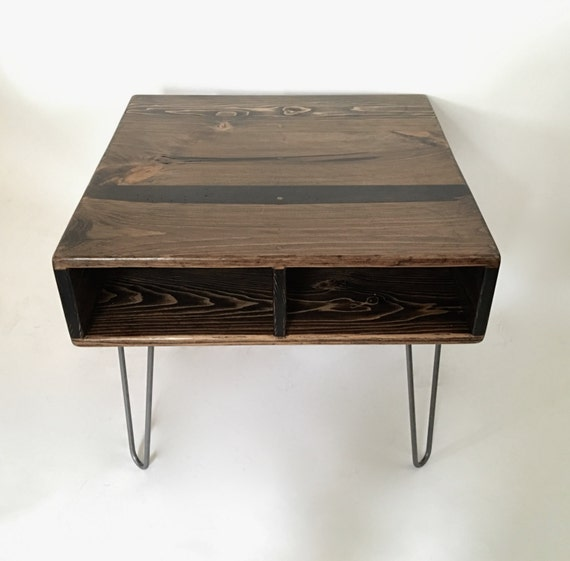 24 X 24 Square Reclaimed Wood Coffee Table