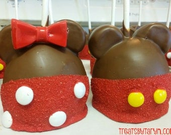 MICKEY Caramel Apples