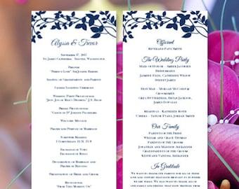 make wedding program etsy