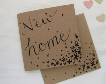 New Home Hand Illustrated Card