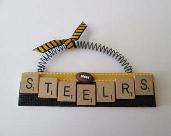 Steelers Football Ornaments