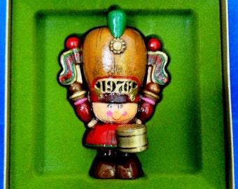 1976 Drummer Boy Hallmark Yesteryears Retired Ornament