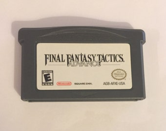 FINAL FANTASY: Tactics Gameboy Advance Game