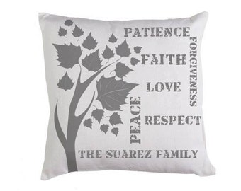 Custom Pillow cover (cushion not include)