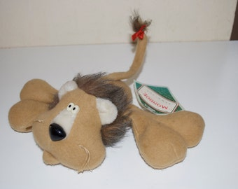 Hallmark Monroe Lion 1985 Stuffed Plush Animal