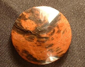 Mahogany obsidian,  Oregon