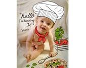 BIRTH ANNOUNCEMENT - Digital Drawing on Photo, Baby Announcement - Baby Girl Annoucement - Baby Announcement - Boy Girl Newborn - Printable