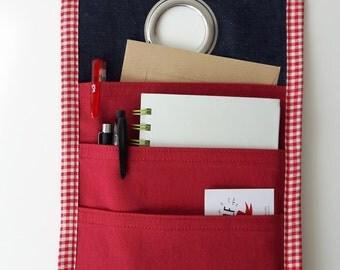 Fabric hanging basket, office storage,do not forget organizer