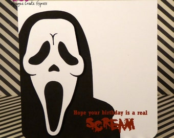 Hope your birthday is a real scream Birthday card