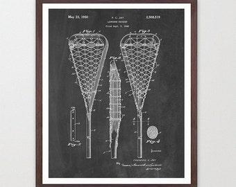 Lacrosse Patent Art - Lacrosse Art - Lacrosse Wall Art - Lacrosse Poster -Lacrosse Print - Lacrosse Patent Print - Lacrosse Stick - Lacrosse