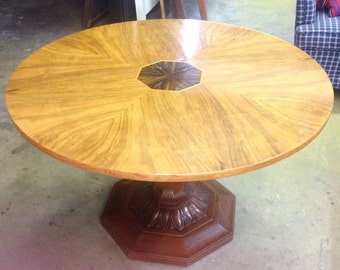 Antique Lazy Susan Table