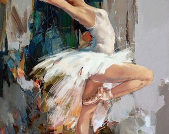 Ballerina - Counted cross stitch pattern in PDf format