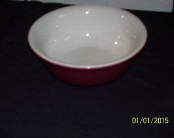 Vintage Hall Burgundy Serving Bowl