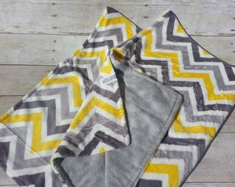 Minky Blanket -  Custom Designed