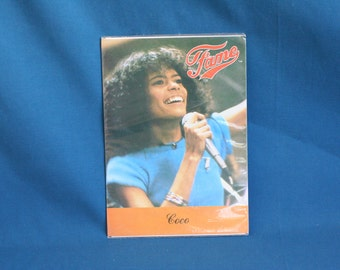 fame tv Series Postcards of coco 1983 MGM ua entertainment